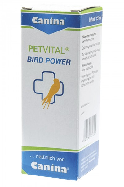 PETVITAL® BIRD POWER Tropfen Vogel 15 ml