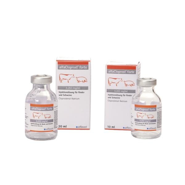 alfaCloprost® forte für Rinder und Schweine 0,263 mg/ml Injektionslösung 10 ml