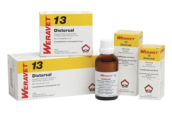 DISTORSAL 13 ad us. vet. Ampullen 10 x 2 ml