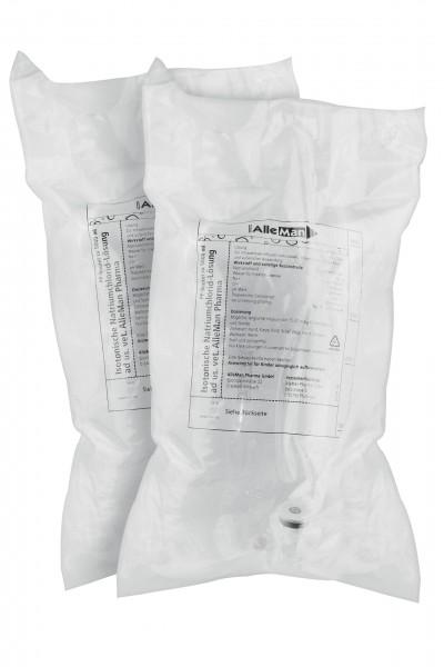 NaCl ad us. vet. Deltamedica 0,9 % Infusionslösung 2 x 5000 ml Beutel