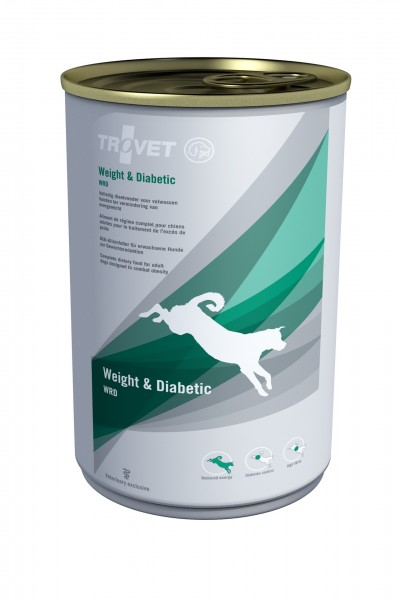 Trovet WRD Hund Weight + Diabetic Nassfutter 6 x 400 g