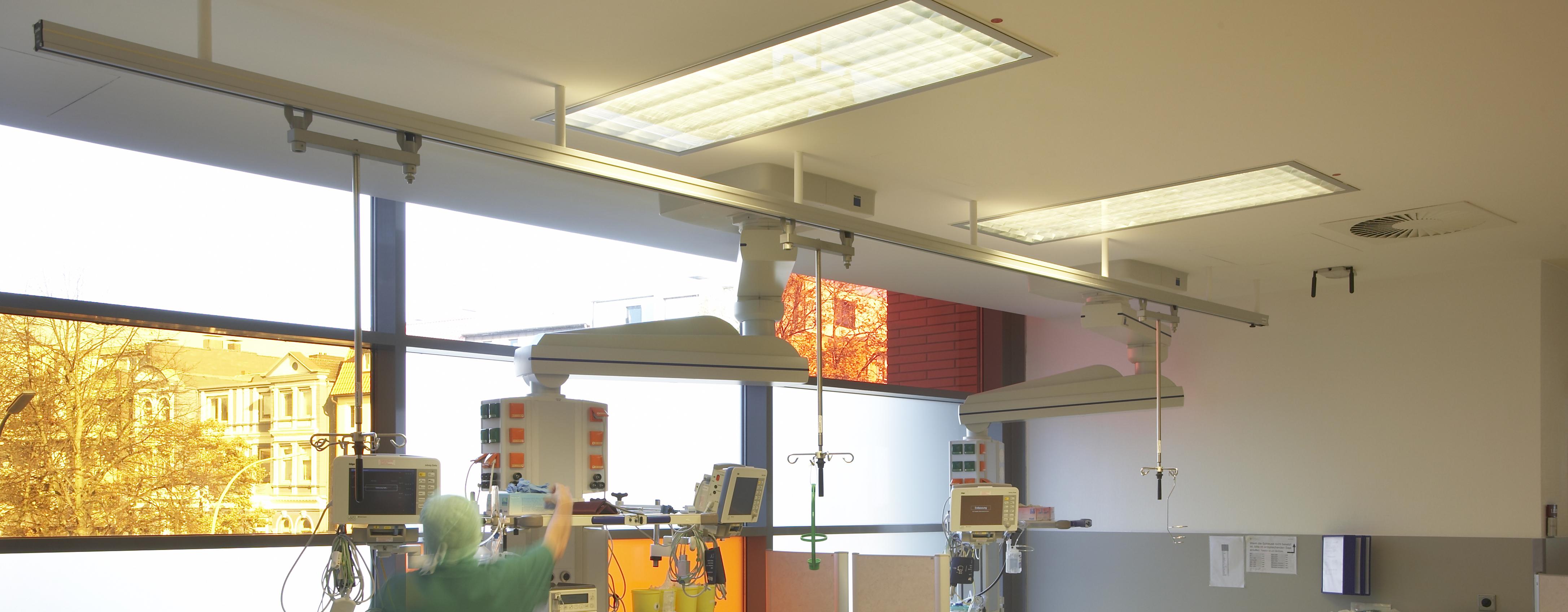 ICS-Deckenschiene-Krankenhaus-Infusionsst-nder