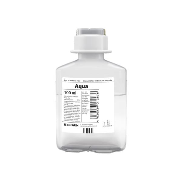 AQUA AD injectabilia B. Braun Injektionslösung 20 x 100 ml