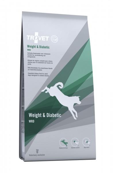 Trovet WRD Hund Weight + Diabetic Trockenfutter 12500 g