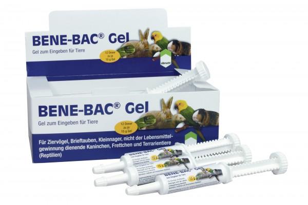 Bene-Bac® Gel Ziervogel, Brieftaube, Kleinnager 12 x 15 g
